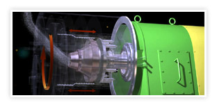 Pusher Centrifuge - Machine Working Process 3D Animation
